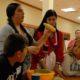 Cultural lesson at camp